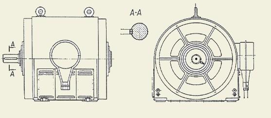 Электродвигатель ДАМШ (260 кВт)